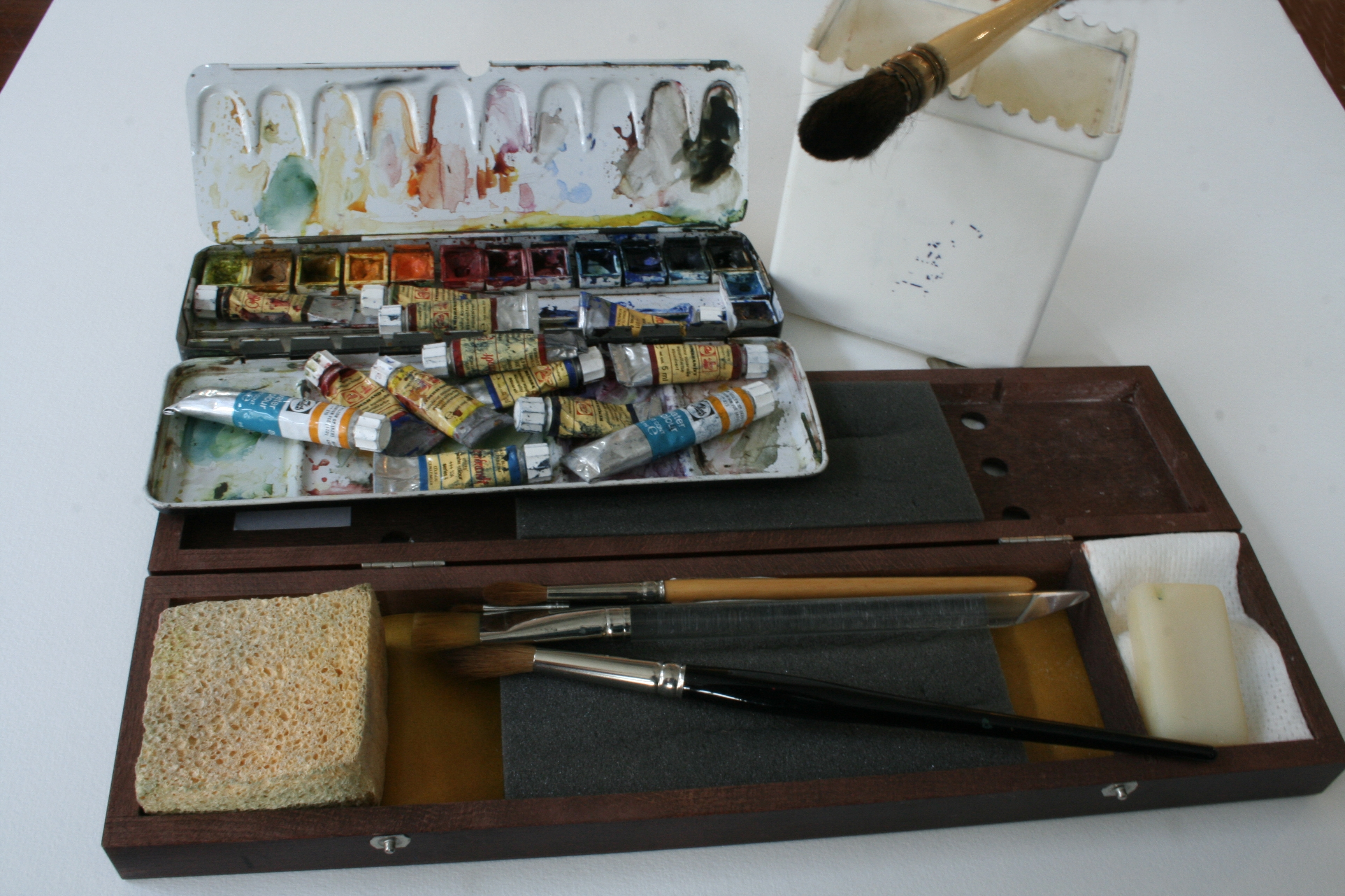 cursus aquarelleren waterverf amsterdam tekenen artis cursussen